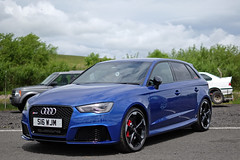 German Car Show (<p&p>photo) Tags: blue 2016 audirs3 audi rs3 s16wjm worldcars classic classiccar show classiccarshow car auto vehicle autoshow knockhillracingcircuit knockhill racing circuit german germancars germancar carshow germancarshow uk scotland july knockhillcircuit july2016