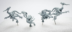 Silver Tower: Primed Blue Horrors (Will Vale) Tags: ageofsigmar 28mm warhammer bluehorrors horrors gamesworkshop fantasy silvertower tzeentch