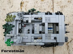 Panther 8.8 interior LEGO WWII (Forestmn) Tags: lego wwii ww2 tank panzer panther interior