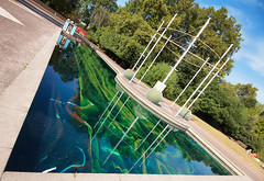 Developer in Colour (UlyssesThirtyOne) Tags: samarascott battersea batterseapark art artexhibition water reflection