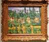 2016.02761a The Burrell Collection, 20 September 2016. The Chateâu at Médan, c. 1880. Paul Cézanne. (jddorren08) Tags: glasgow burrellcollection scotland fineart decorativearts embroidery needlework ceramics paintings sculpture tapestries armour glass neareasterncarpets orientalart rugs sirwilliamburrell sonyalphaa6000 sigma30mm daviddorren jddorren paulcézanne thechateâuatmédan