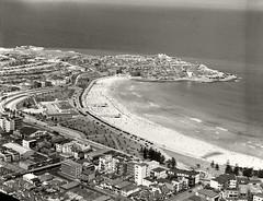 Bondi Beach and Ben Buckler looking North - 1937 (Royal Australian Historical Society) Tags: rahs royalaustralianhistoricalsociety bondibeach adastraaerialsurveycollection adastra aerialphotography landscape 1937
