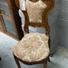Ornate carved small chair â¬75