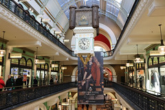 Queen Victoria Building (lukedrich_photography) Tags: australia oz commonwealth أستراليا 澳大利亚 澳大利亞 ऑस्ट्रेलिया オーストラリア 호주 австралия newsouthwales nsw canon t6i canont6i history culture sydney سيدني 悉尼 सिडनी シドニー 시드니 сидней metro city cbd centralbusinessdistrict qvb queen victoria building architecture georgemcrae romanesque revival marketplace market shop store centre tourist site commerce complex monarch royal clock neilglasser thwaitesreed time
