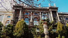 IMG_20161007_160419 (Lets go hand in hand.) Tags: windows museum musee history historic building archi architektur architecture nature green trees autumn wien vienna austria sterreich europe travel photography