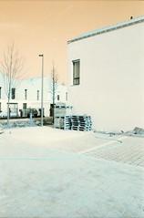 Lille-Sud, Lille, NCP (Jickatrap) Tags: pentaxmz50 pentax 35mm  analog film filmphotography  arquitectura    suburbia  calle   newtopographics urbanlandscape photographersontumblr  lille  lomochrome lomochrometurquoise