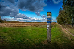 Image of a Wonderful Dutch Sky taken at Holten Trainstation. (Bart Ros) Tags: landscape photography holten overijssel pentax pentaxian sky green clouds cloudscape travel nature naturalworld panorama hdr