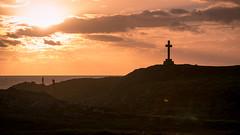 Llanddwyn Island Sunset (1 of 1) (MathewDC) Tags: llanddwyn island sunset cross christian photographers wales uk sun sky sea clouds