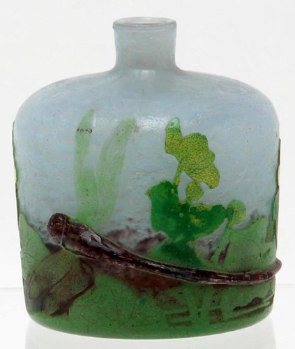 Daum Nancy Patee de Verre Bottle ($728.00)