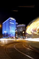 Poseidonhaus (patricklange) Tags: frankfurt ffm luminale 2016 light art kunst licht lichtkunst
