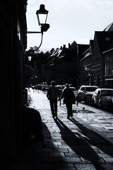 The Couple (edelweisskoenig) Tags: eu europe europa deutschland germany bavaria bayern allgu kaufbeuren fujifilm xpro1 fujinon 35mm 35mmf2 couple paar blackandwhite blackwhite bw noireblanc schwarzweiss monochrome monochrom street strasse people menschen