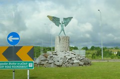 i03855 (philrickerby) Tags: ireland sculpture daedalus icarus ennis countyclare