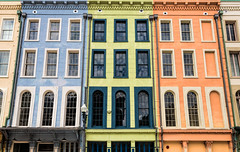New Orleans Colors (Darren LoPrinzi) Tags: 2016 5d canon5d urban canon city frenchquarter la louisiana miii neworleans neworleanstrip2016 buildings colors architectural patterns windows facade