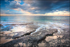 Jervis Bay evening (katepedley) Tags: new south wales newsouthwales nsw australia canon 5d 1740mm polariser huskisson jervis bay coast shoalhaven