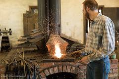 Homestead Heritage (Blacksmithing) (cdw21) Tags: blacksmith waco texas