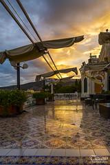 light of dawn on the terrace (Tiziano Photography) Tags: sorrento dawn sunrise terrace sky clouds landscape nikond610 d610 nikon alba terrazzo cielo nuvole paesaggio