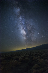 Milky Way over Devil's Golf Course at Death Valley (Xiang&Jie) Tags: milkyway devisgolfcourse deathvalley night nightsky star gazing landscape