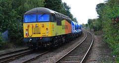 Mansfield Woodhouse (Diesel Dude.) Tags: colasrailfreight coalsrail colas cl class56 56302 56087 disel loco locomotive grid grids mansfield woodhouse mansfieldwoodhouse robinhoodline rhl rhtt wagons wagon pecotherailwaymodeller201670years 6z47 0956 yorkthralleuropa gloucesterhortonroad canon eos 100d dslr flickr rail railway british britishrailways britishrail uk england 2016 notts nottinghamshire interesting inexplore train trains signals mustsee art artistic fashion telephoto telephototrains explore