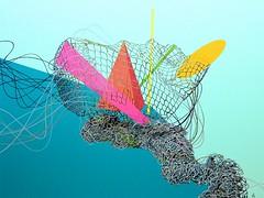 Aurora Alcaide: Al otro lado..., 2011.Impresión digital y acrílico sobre papel, 97x130 cm