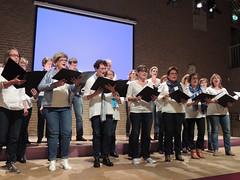 Uitwisselingsconcert Voices - Innovation - zanggroep Confervore