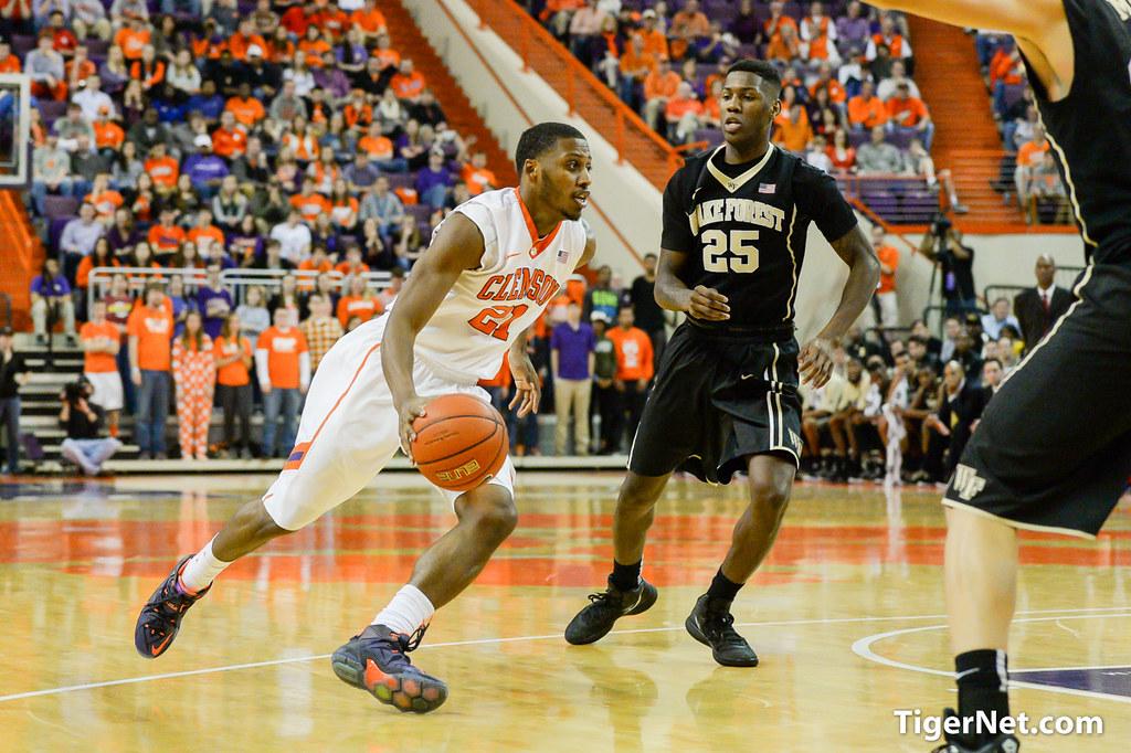 Clemson Photos: Basketball, 20142015, Damarcus  Harrison