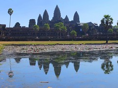 Angkor Wat (stardex) Tags: sky reflection tower architecture temple cambodia buddhist angkorwat unesco historical siemreap buddhisttemple stardex