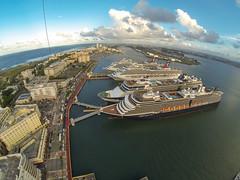 Old San Juan (Wind Watcher) Tags: kite puerto lite san juan ds levitation delta rico kap windwatcher
