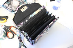 The Carry It All Wristlet (Tracey Lipman) Tags: blue 6 black smart mobile butterfly bag grey michael aqua ipod phone purple handmade lock 5 small gray cell samsung twist miller galaxy zipper plus pocket accordian tracey iphone filigree adjustable padded wristlet lipman