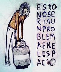 el cilindro pesa ms (soopersoonday) Tags: lapiz dibujo caricatura