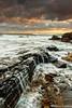 the little wall (Paco Conesa) Tags: sunset sea spain maritim maritima calblanque