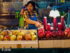 Fruit juice (inkid) Tags: fruit thailand chinatown juice bangkok pomegranate krungthepmahanakhon