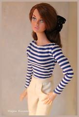 Marine Poppy (Hiljan Kuvaamo) Tags: integrity barbiemillicentroberts poppyparker perfectlypurplepoppyparker