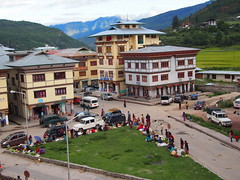 The city of Paro!