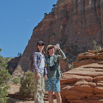 "Tourists at Zion<a href=""http://www.flickr.com/photos/28211982@N07/15931963496/"" target=""_blank"">View on Flickr</a>"