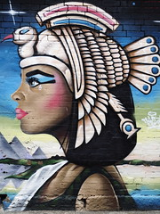 The Goddess (Peter Grifoni) Tags: art grafitti olympus omd em1 newtwon gtpete63 petergrifoni