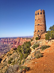Desert Watch Tower (AppStateJay) Tags: trip vacation arizona drive view desert grandcanyon south rim watchtower