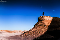 Mountain In The Desert (oussama_infinity) Tags: world camera sky man nature night canon photography algeria photo desert image infinity bleu ciel national photograph vue geographic algrie panoramique  the alger    dafrique  oussama of mostaganem   bleuciel   d650    canond650