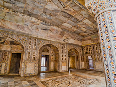 Red Fort, Agra, Uttar Pradesh, India (schmittjm) Tags: india marble indien marmor islamicdecoration