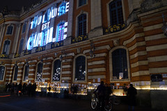 #JeSuisCharlie (Curufinwe - David B.) Tags: france night square freedom candles remember place nightshot mourning terrorist souvenir libert shock shooting freedomofspeech toulouse hommage press speech choc mourn capitole tuerie presse hautegaronne midipyrnes charliehebdo recueillement attacke jesuischarlie toulousestcharlie