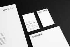 Schaltraum Architects Identity  Stationery (Philipp Zurmoehle) Tags: white black architecture germany studio logo layout design