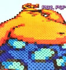 toejam and earl bead sprite pixel art perler hama beads (kungfukao) Tags: pixelart hama perler toejam retrogaming hamabeads perlerbead perlerbeads toejamandearl perlerart hamabead beadsprite perlersprite toejamandearlperler earlperler perlerearl