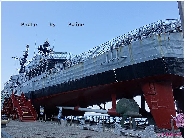 江陵統一公園 南北韓戰艦 (3).JPG