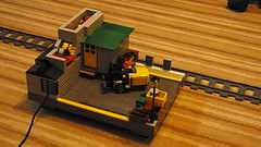 loading platform (de-marco) Tags: city train town lego diesel engine rail loco latlug