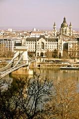 #Budapest - Hungary (Sandrine Vivs-Rotger photography) Tags: bridge reflection basilica budapest artnouveau danube greshampalace