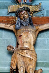 Crucifix (Nick in exsilio) Tags: germany konstanz renaissance constance crucifixion woodcarving