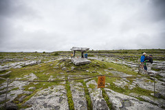 Poulnabrone Tomb 8667 (Ursula in Aus) Tags: ireland clare cliffsofmoher countyclare poulnabronedolmen poulnabronetomb barratttours