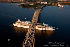 Aerial Image of Baltimore Cruise Ship by Jeffrey Sauers (Commercial Photographics) Tags: morning industry sunrise photography marine sailing cities maryland places baltimore aerial cruiseship sail aerialphotography seo companies keybridge conditions cruiseterminal mpa patapscoriver francisscottkeybridge marineterminal portofbaltimore marineport marylandportadministration commercialphotographics photographybyjeffreysauers portofmaryland projectnames baltimoreaerialphotographer marylandaerialphotography royalcaribbeanenchantmentoftheseacruiseship travelleisurephotography