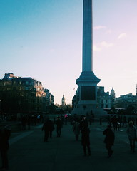 Trafalgar Square (didemtali) Tags: travel carnival party summer england flower london westminster thames garden eppingforest europe picnic unitedkingdom stpaul bigben tatemodern southbank bee musical coventgarden hackney hampsteadheath canarywharf primrosehill brixton nottinghill walthamstow attractions activities hollandpark todolist bookofmormon londonschoolofeconomics hornimanmuseum vsco instagram expatlifeinlondon