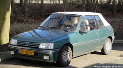 Peugeot 205 cabriolet Roland Garros 1991 (XBXG) Tags: auto old france holland classic netherlands car french automobile nederland convertible voiture roland 1991 frankrijk rg cabrio paysbas peugeot ancienne 205 cabriolet weesp peugeot205 garros franaise dhhx12