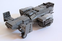 Bellock Gunship 2 (✠Andreas) Tags: lego aircraft military shuttle scifi gunship legoaircraft legomilitary legogunship